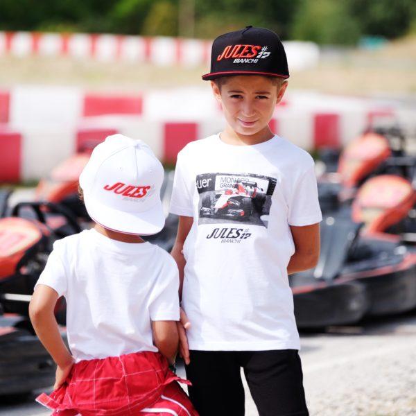 Association Jules Bianchi - Enfant - Tee-shirt enfant Jules Monaco 2014