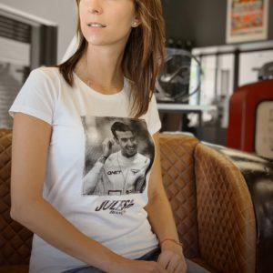 Association Jules Bianchi - Femme - Tee-shirt femme Jules smile