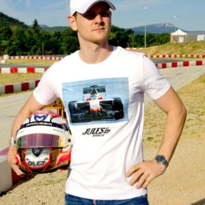 Association Jules Bianchi - Homme - Tee-shirt homme Jules Barhain testing 2014