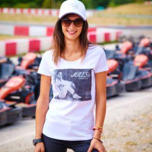 Association Jules Bianchi - Femme - Tee-shirt femme Jules in box