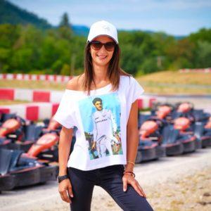 Association Jules Bianchi - Femme - Tee-shirt femme Jules Sepang 2013