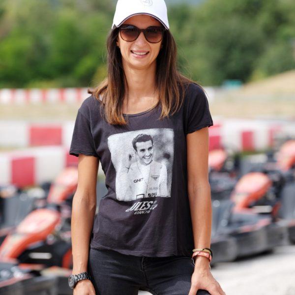 Femme Tee-shirt femme Jules smile