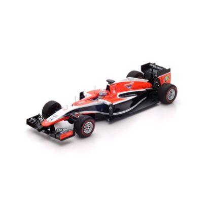 Modèle miniature Marussia MR03 de Jules