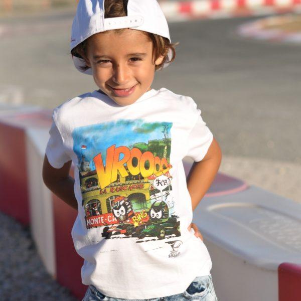 Association Jules Bianchi - Enfant - Tee-shirt enfant VROOAArt