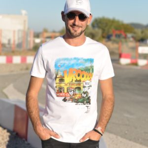 Association Jules Bianchi - Homme - Tee-shirt homme VROOAArt
