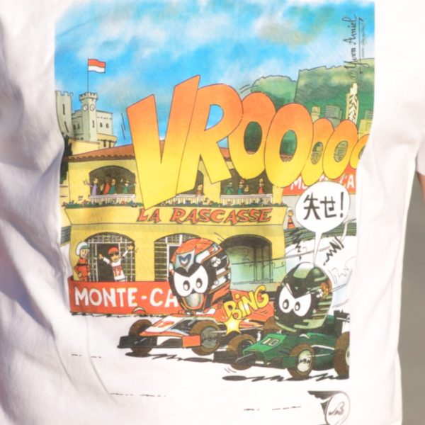 Association Jules Bianchi - Homme - Tee-shirt homme VROOAArt