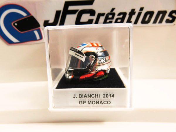 Association Jules Bianchi - Accessoires - Mini casque Jules Bianchi Monaco 2014