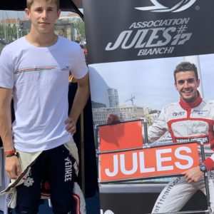 Association Jules Bianchi - Homme - Tee-shirt Homme KEEP PUSHING