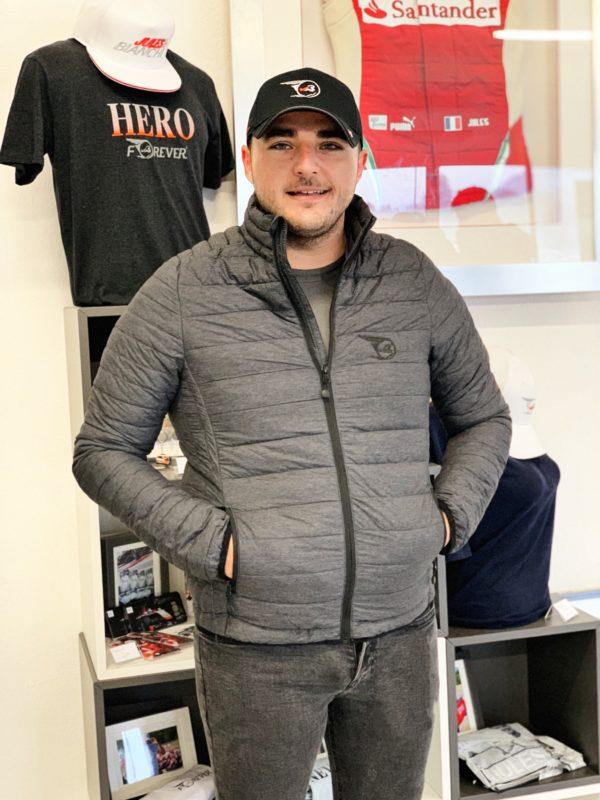 Homme Man Jacket Jules Bianchi