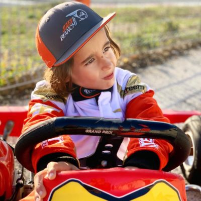 Casquette enfant Jules Bianchi #17