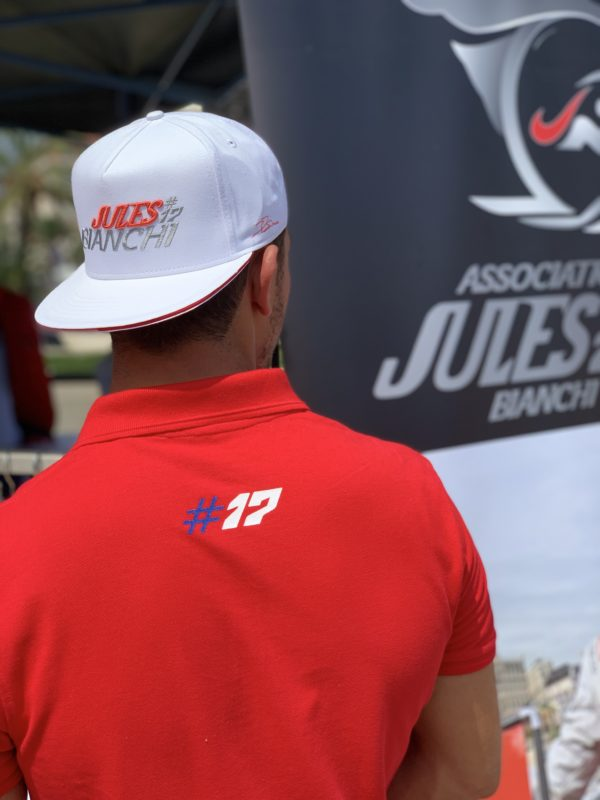 Association Jules Bianchi - Homme - Polos Pays JB17