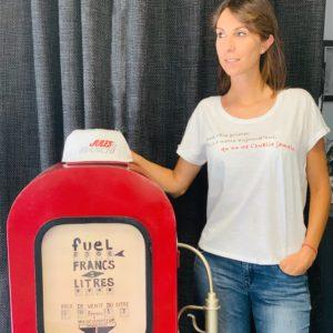 Association Jules Bianchi - Femme - Tee shirts femme «son rêve…»