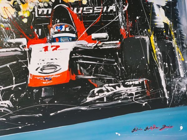 Décoration Reproduction painting Marusssia JB17