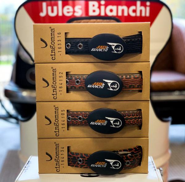 Association Jules Bianchi - Accessoires - Ceintures recyclées