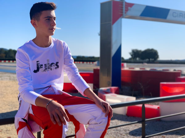 Association Jules Bianchi - Homme - Tee shirt homme manches longues «Jules»