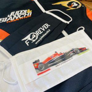 Association Jules Bianchi - Accessoires - Masque réutilisable