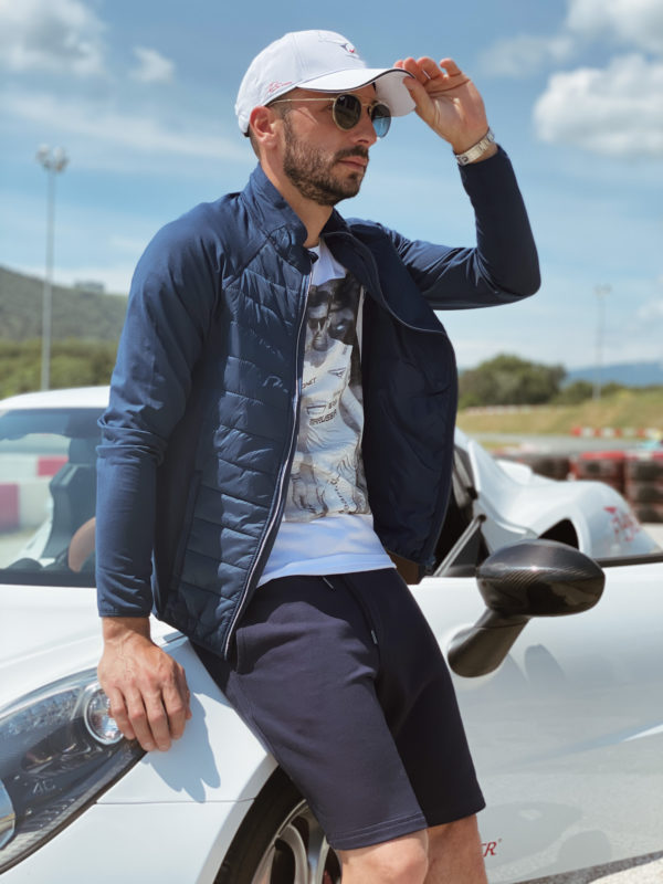Association Jules Bianchi - Man - Forever mid-season jacket with long sleeves