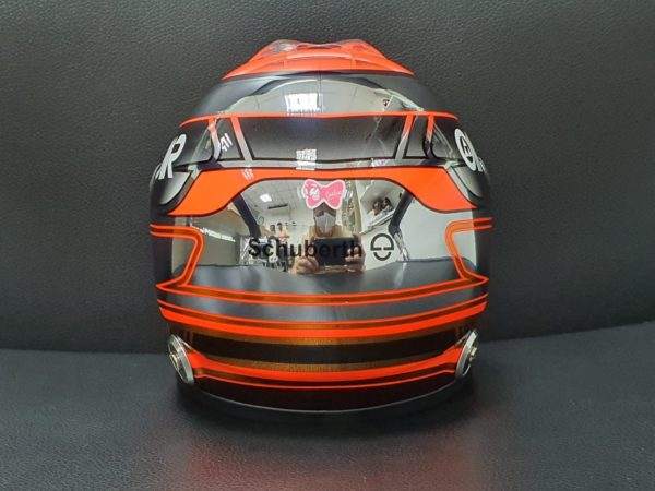 Association Jules Bianchi - Accessoires - Casque Marussia Schuberth 1:2  Jules Bianchi GP Monaco 2014