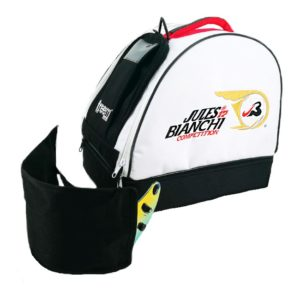 Association Jules Bianchi - Compétition - Sac à casque avec emplacement minerve