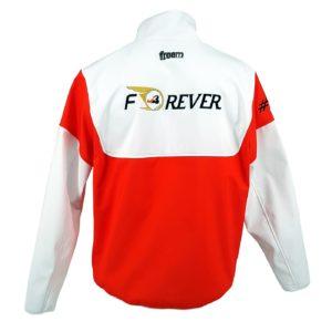Association Jules Bianchi - Compétition - Softshell Jules Bianchi Compétition blanc et rouge