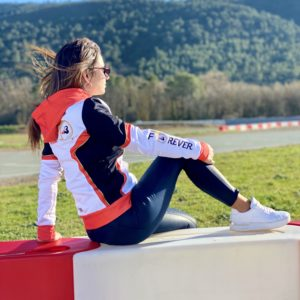 Femme Woman Sweat Zip Jules Bianchi #17 Competition
